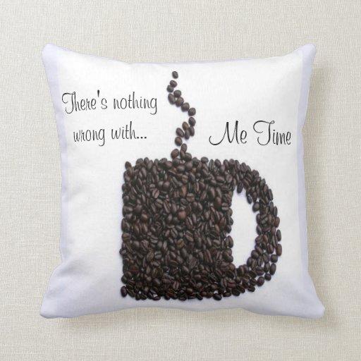 Charla del café cojines