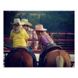 Charla del rodeo posters