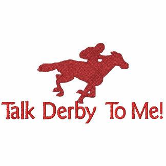 ¡Charla Derby a mí! Sudadera Con Serigrafía
