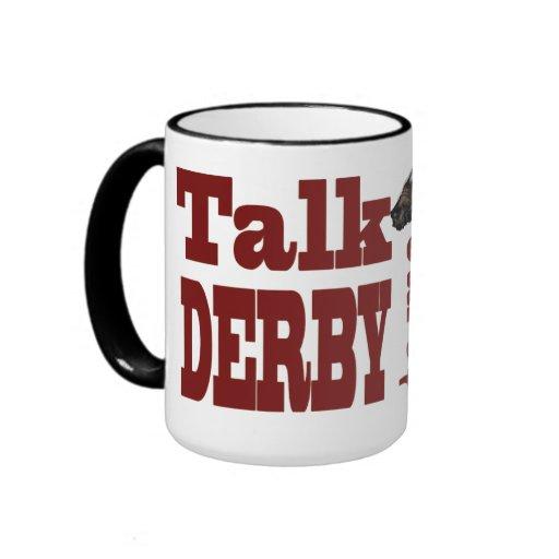 Charla Derby a mí regalos y novedades Tazas De Café