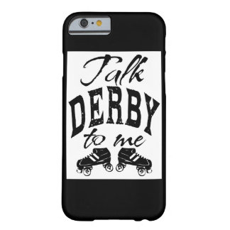 Charla Derby a mí, rodillo Derby Funda Barely There iPhone 6