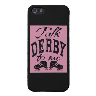 Charla Derby a mí, rodillo Derby iPhone 5 Carcasas