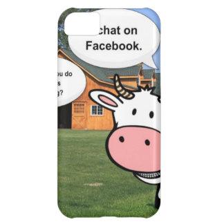 Charla divertida del facebook del dibujo animado l funda para iPhone 5C