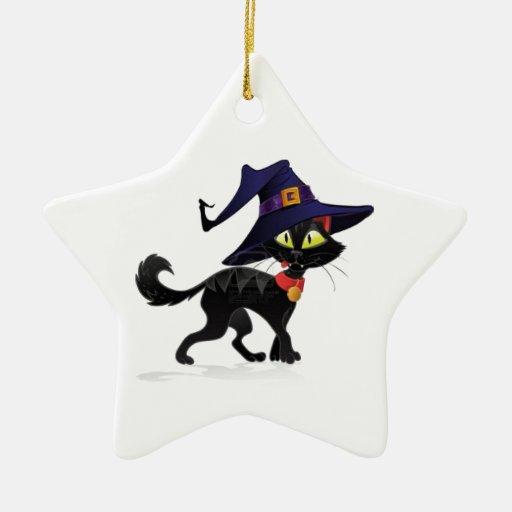 Charla Halloween noir Adornos