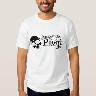 Charla internacional como un día del pirata playeras