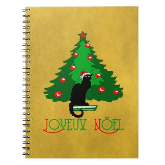 Charla Joyeux Noir Noel Libro De Apuntes