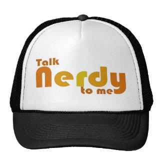 Charla nerdy a mí gorro