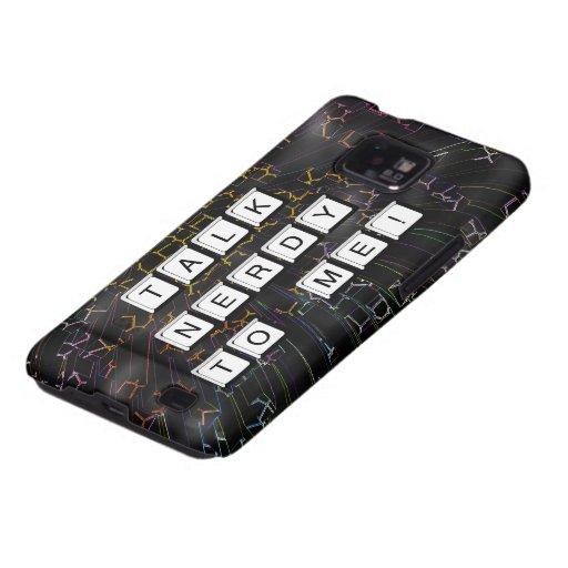 Charla Nerdy Galaxy S2 Fundas