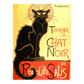 Charla noir, cartelera original del Le Tarjetas Postales