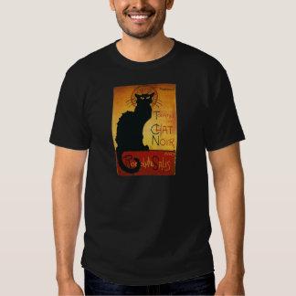 Charla Noir - gato negro Playera