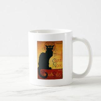 Charla Noir - gato negro Taza Clásica