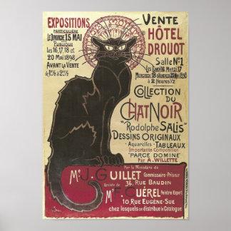 Charla Noir, Vente Hôtel Drouot Steinlen del vinta Impresiones