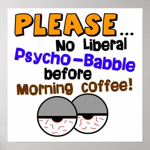 ¡Charla psica no liberal! Impresiones