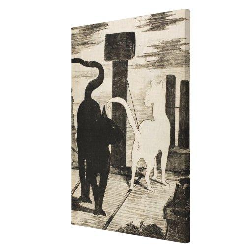 Charlas del DES de Eduardo Manet Le Rendez-vous Lienzo Envuelto Para Galerias