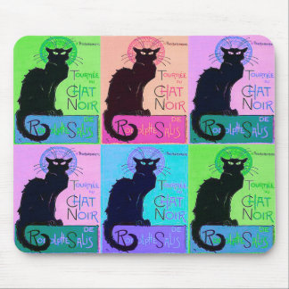 Charlas Noir (gatos negros) Tapete De Ratones