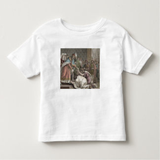 Charlemagne (742-814) Receives the Ambassadors fro Toddler T-shirt