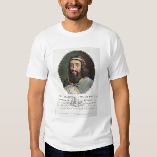 Charlemagne (747-814), King of France, engraved by Tee Shirt