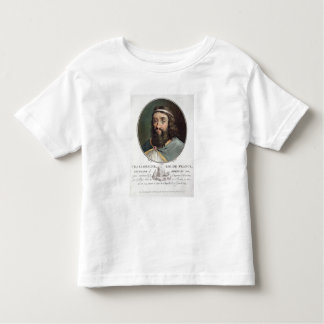 Charlemagne (747-814), King of France, engraved by Toddler T-shirt