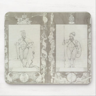 Charlemagne  and Heymon, 1804-5 Mouse Pad