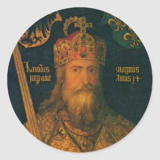 Charlemagne by Dürer Stickers