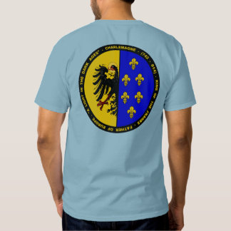 Charlemagne coat of arms Seal shirt