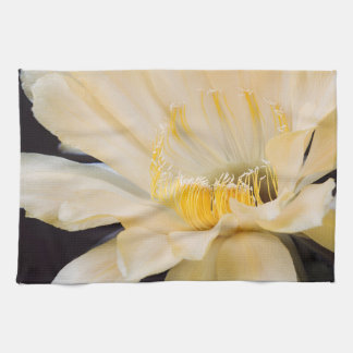 Charlemagne Echinopsis in bloom Hand Towel
