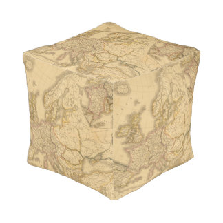Charlemagne Empire Cube Pouf