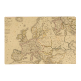 Charlemagne Empire Laminated Place Mat