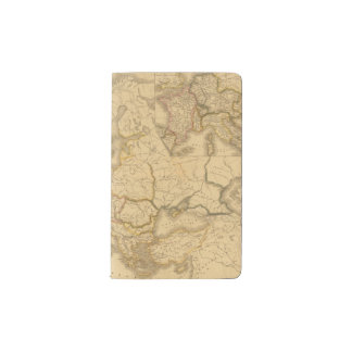Charlemagne Empire Pocket Moleskine Notebook Cover With Notebook