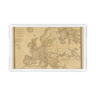 Charlemagne Empire Rectangle Serving Trays