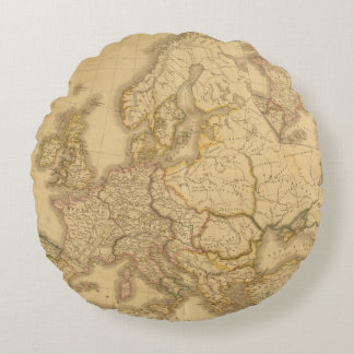 Charlemagne Empire Round Pillow