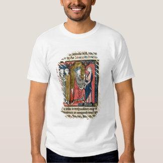 Charlemagne sending Ganelon T-shirt