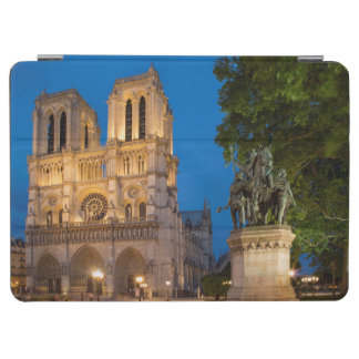 Charlemagne statue below the front façade iPad air cover