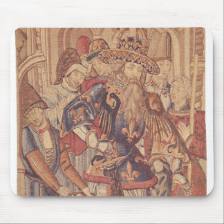 Charlemagne  Tournai Workshop Mouse Pad