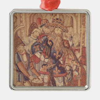 Charlemagne Tournai Workshop Christmas Ornament