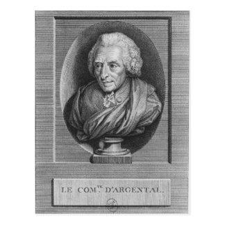 Charles Agustín de Ferriol, Comte d'Argental Tarjeta Postal