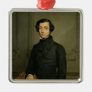 Charles-Alexis-Henri Clerel de Tocqueville  1850 Metal Ornament