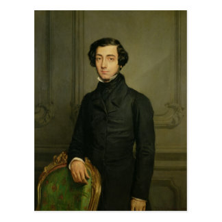 Charles-Alexis-Henri Clerel de Tocqueville  1850 Postcard
