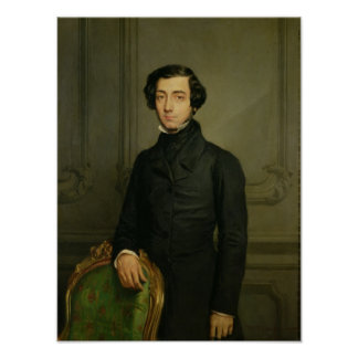 Charles-Alexis-Henri Clerel de Tocqueville  1850 Poster