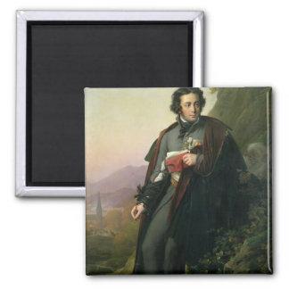 Charles-Artus de Bonchamps 1824 Imán Cuadrado