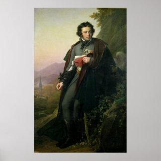 Charles-Artus de Bonchamps  1824 Print