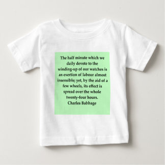 Charles Babbage quote Baby T-Shirt