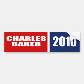 CHARLES BAKER FOR GOVERNOR BUMPER STICKERS