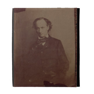 Charles Baudelaire (1820-1867), French poet, portr iPad Cases