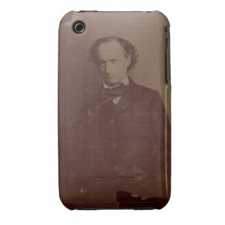 Charles Baudelaire (1820-1867), French poet, portr iPhone 3 Case