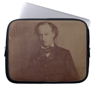 Charles Baudelaire (1820-1867), French poet, portr Computer Sleeves