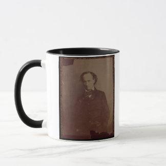 Charles Baudelaire (1820-1867), French poet, portr Mug