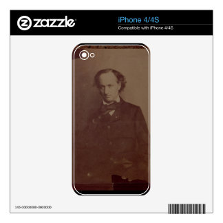 Charles Baudelaire (1820-1867), French poet, portr Skin For iPhone 4S