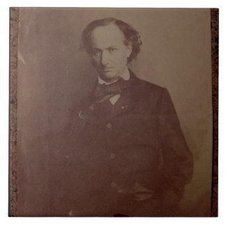 Charles Baudelaire 1820-1867 poeta francés por Azulejos Cerámicos