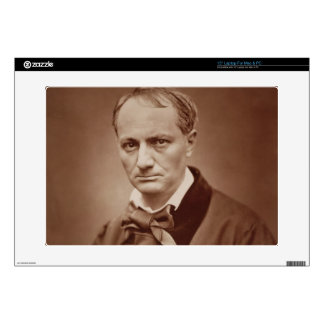 Charles Baudelaire (1821-67), French poet, portrai Decals For Laptops